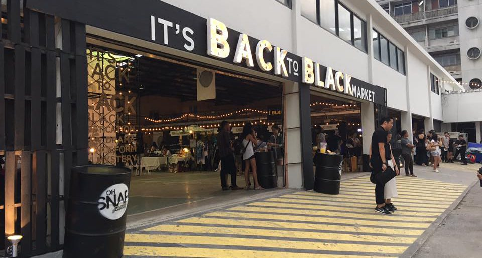 BACK TO BLACK Market