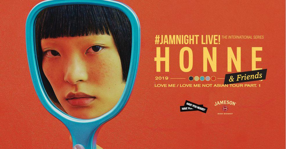 กลับมารอบที่ 3 กับ JAMnight Live! with Honne & Friends 22 ก.พ. 62 นี้
