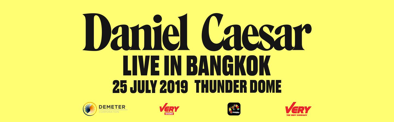DANIEL CAESAR LIVE IN BANGKOK