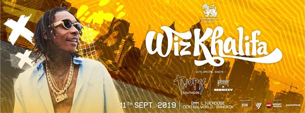 Wiz Khalifa Live In Bangkok
