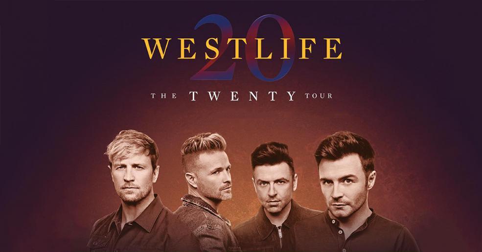 กลับมารวมตัวกันอีกครั้งใน Westlife The Twenty Tour Concert
