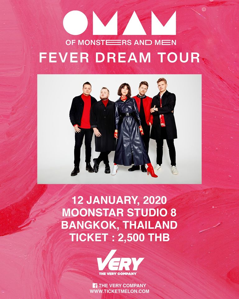 OF MONSTERS AND MEN LIVE IN BANGKOK 2020