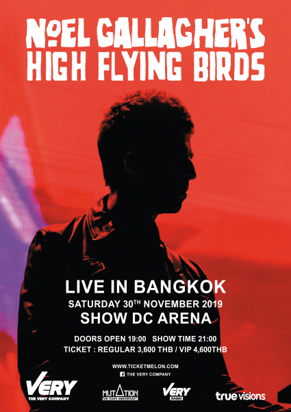 Noel Gallagher's High Flying Birds Live In Bangkok 2019
