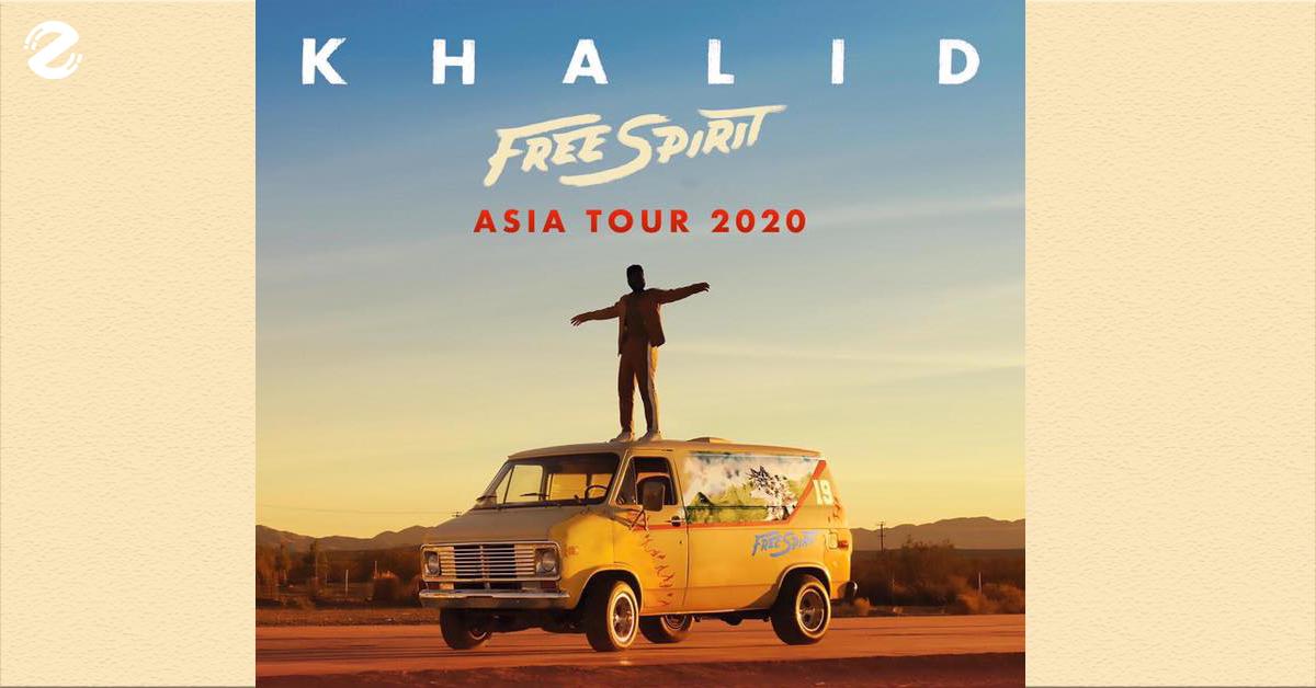 Khalid Tour 2020.เตร ยมต วให พร อม Khalid กำล งจะกล บมาใน Khalid Free Spirit