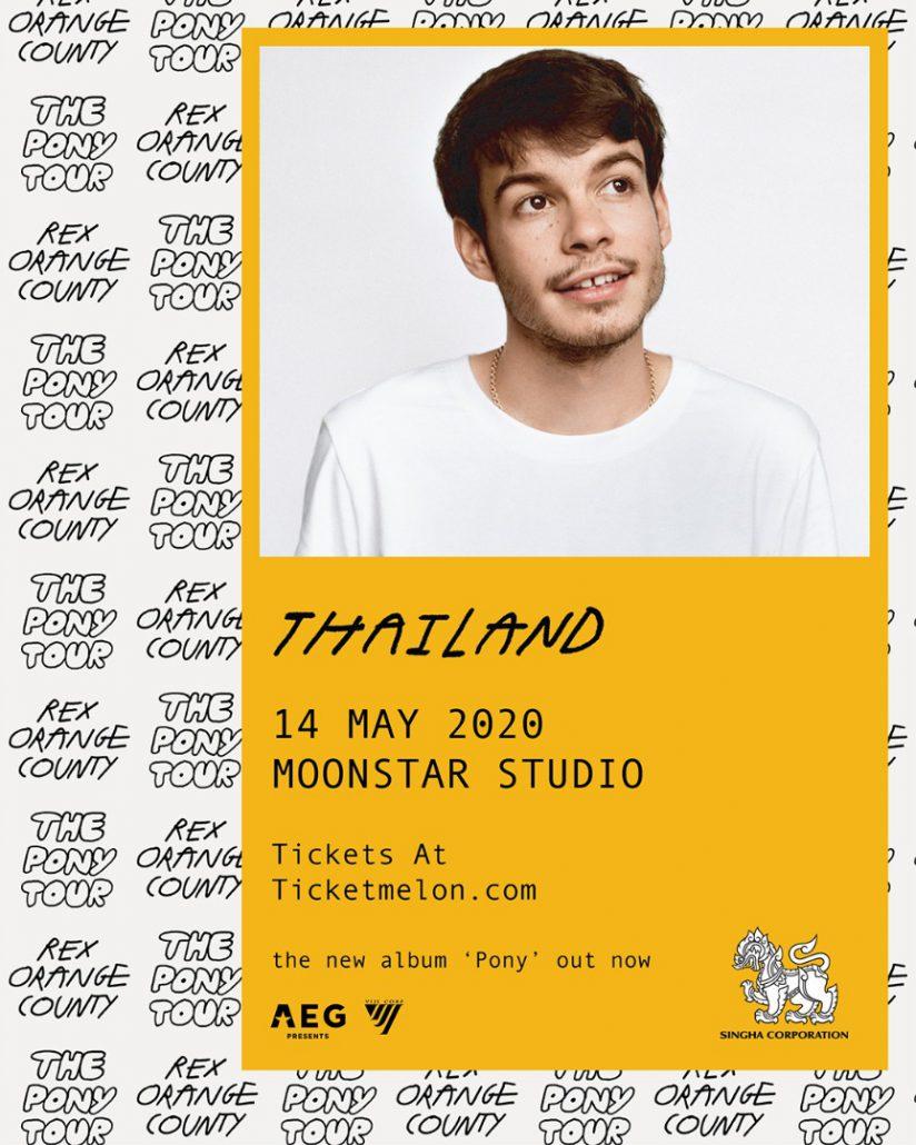 rex orange county live in bangkok