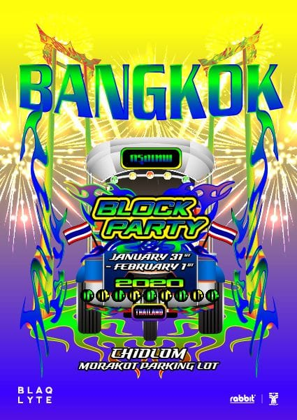 BANGKOK BLOCK PARTY