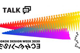 Talks in Bangkok Design Week 2020