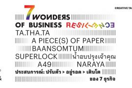 7 Wonders Of Business Resilience: Change SMEs | Bangkok Design Week 2020