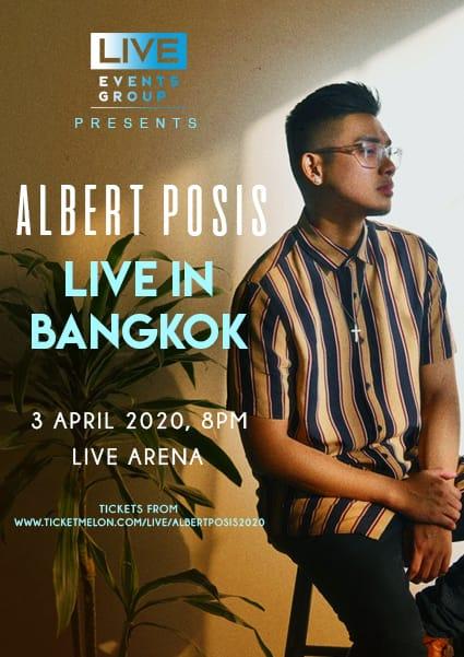 Albert Posis live in Bangkok