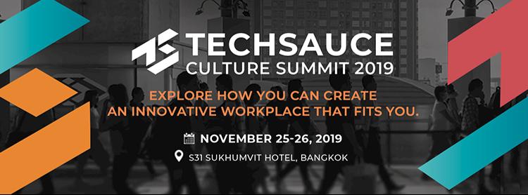 Techsauce Culture Summit 2019
