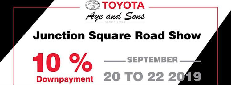 Toyota Aye and Sons Roadshow