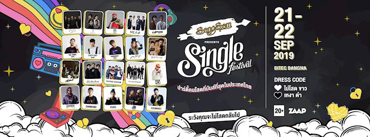 SangSom Presents Single Festival 2019