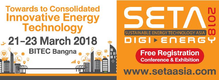 SETA 2018 – SUSTAINABLE ENERGY TECHNOLOGY ASIA