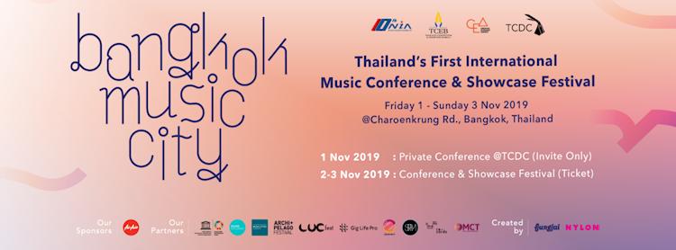 Bangkok Music City 2019 Zipevent