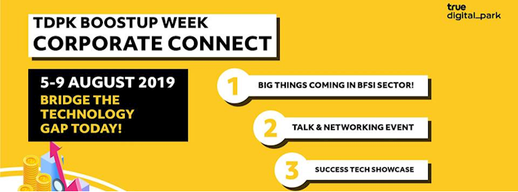 TDPK Boostup Week : Corporate Connect #Banking&Insurance