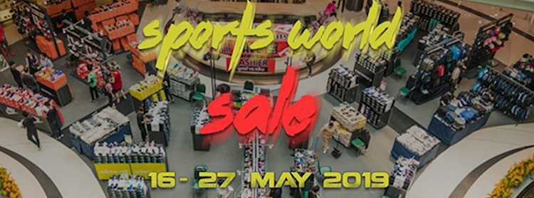 Sports World Sale