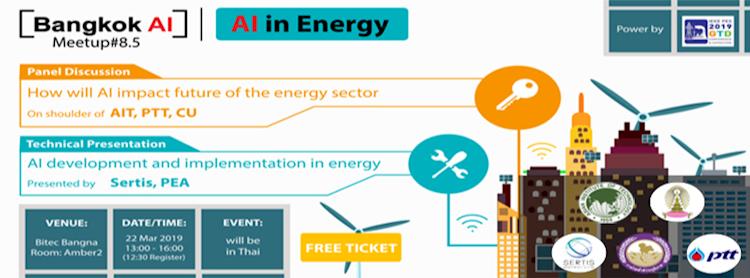 """Bangkok AI Meetup#8.5 """"AI in Energy"""""""
