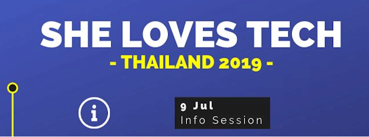 She Loves Tech Thailand 2019