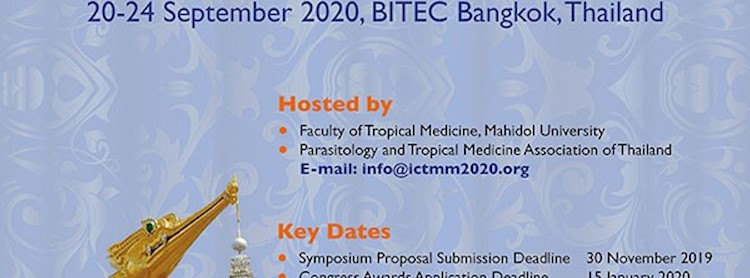 The 20th International Congress for Tropical Medicine and Malaria (ICTMM2020)