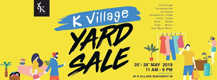 K Village Yard Sale