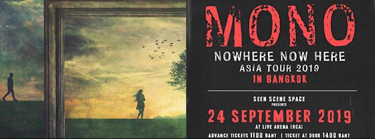 MY BEER presents MONO Asia Tour 2019 in Bangkok