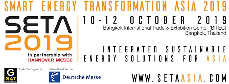 Smart Energy Transformation Asia 2019 (SETA 2019)