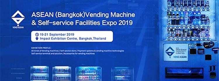 ASEAN (Bangkok) Vending Machine & Self-service Facilities Expo 2019