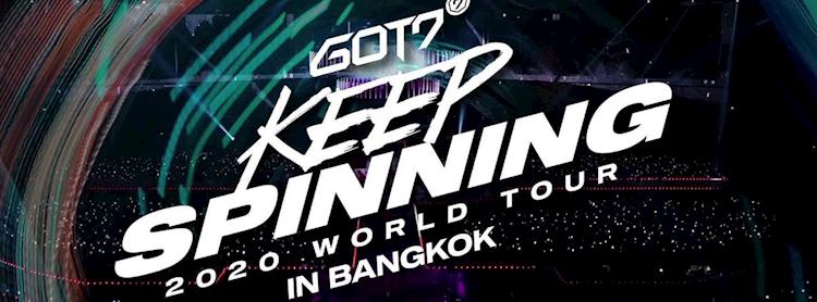 GOT7 2020 WORLD TOUR 'KEEP SPINNING' IN BANGKOK