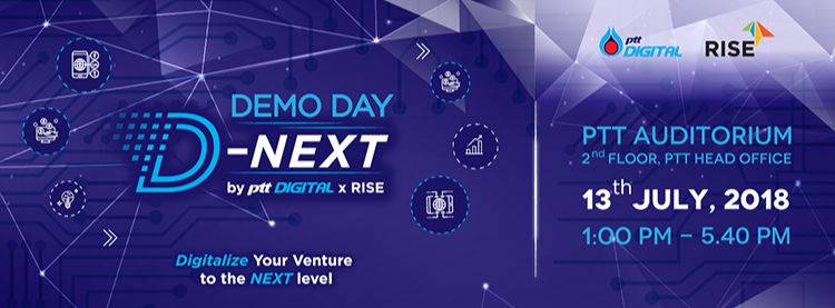 D-NEXT by PTT Digital x RISE Demo Day | Zipevent ...
