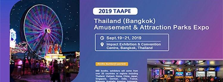 Thailand (Bangkok) Amusement & Attraction Parks Expo 2019