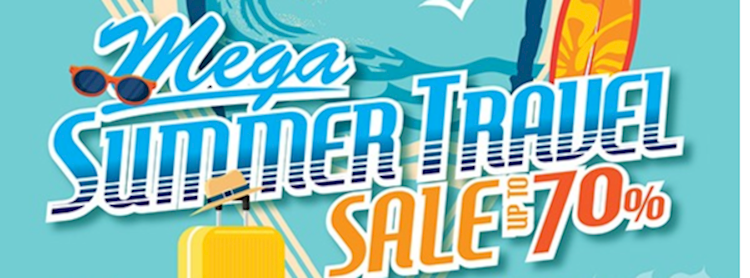 Mega Summer Travel Sale