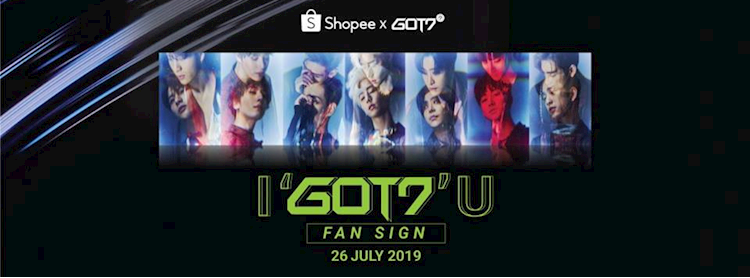 ShopeexGOT7 #igot7u Fansign