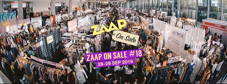 ZAAP ON SALE ครั้งที่ 18: Ready, Sale, Go!