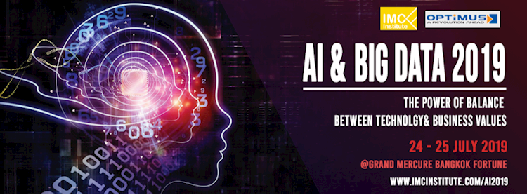 AI & Big Data 2019 : The Power of Balance between Technology & Business Values