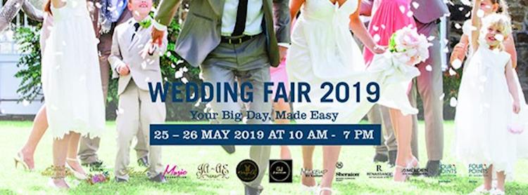 "Wedding Fair 2019 ""Your Big Day, Made Easy"""
