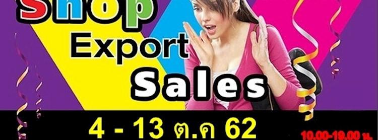 Shop Exports Sales