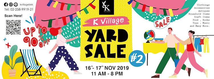 K Village Yard Sale #2